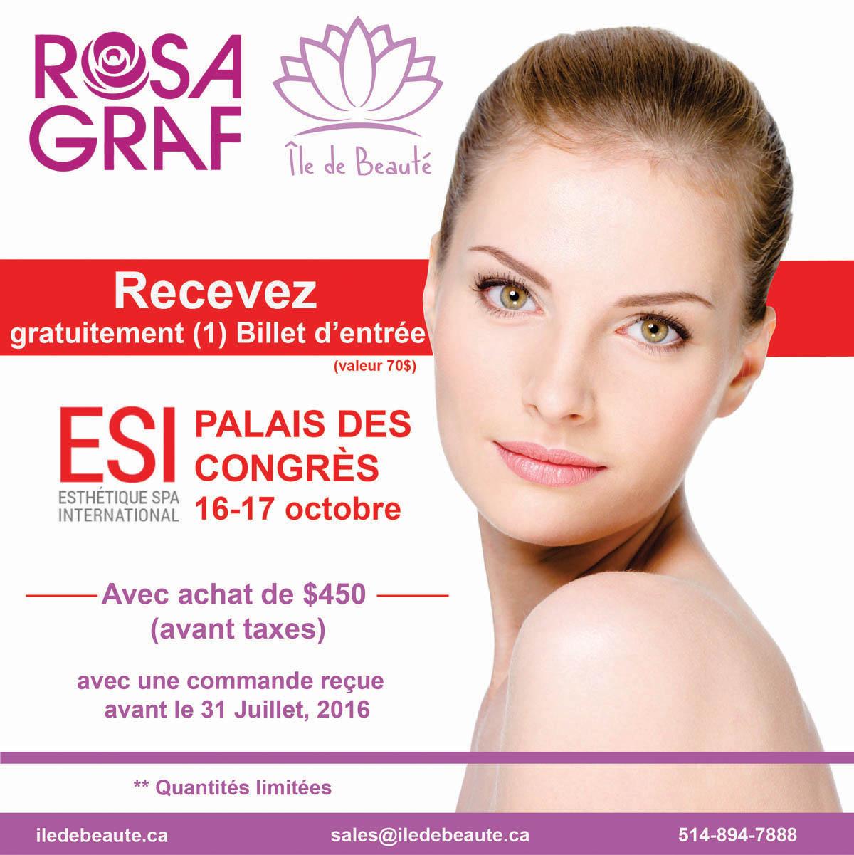 Rosa Graf Ile de Beaute show ESI Montreal